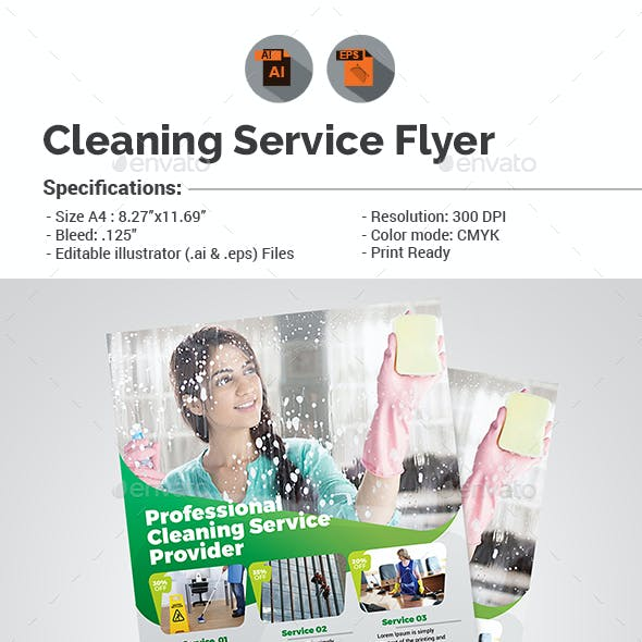 Cleaning Services Flyer V5