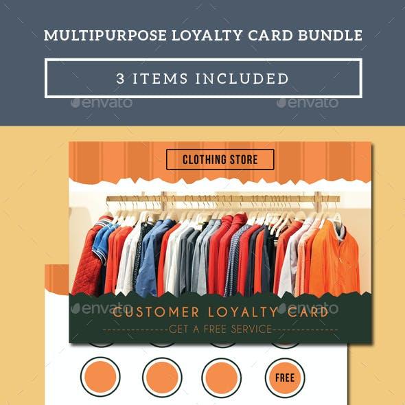 Multipurpose Loyalty Card Bundle
