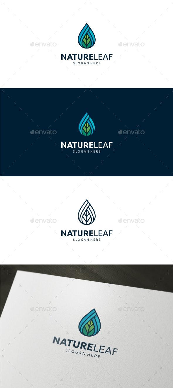 Nature Leaf Logo - Nature Logo Templates