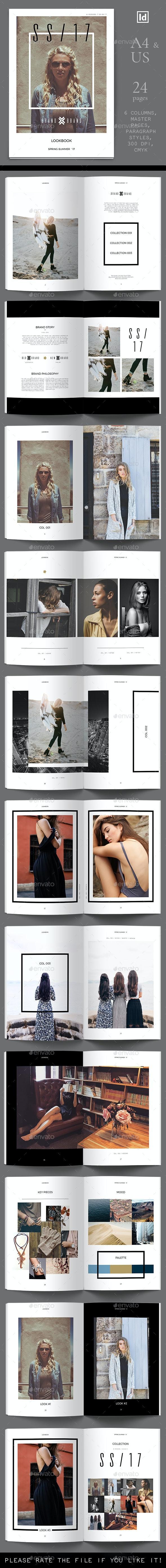 Lookbook 03 Template - Magazines Print Templates
