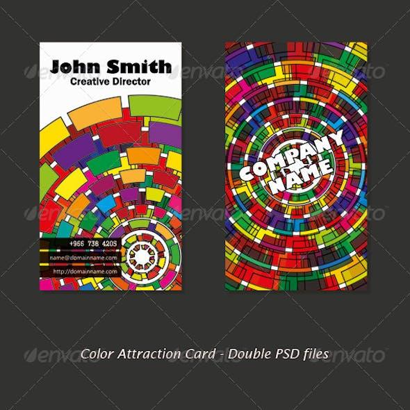 Color Attraction Card