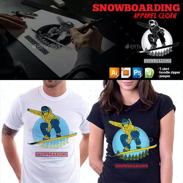 Snowboarding Apparel Cloth
