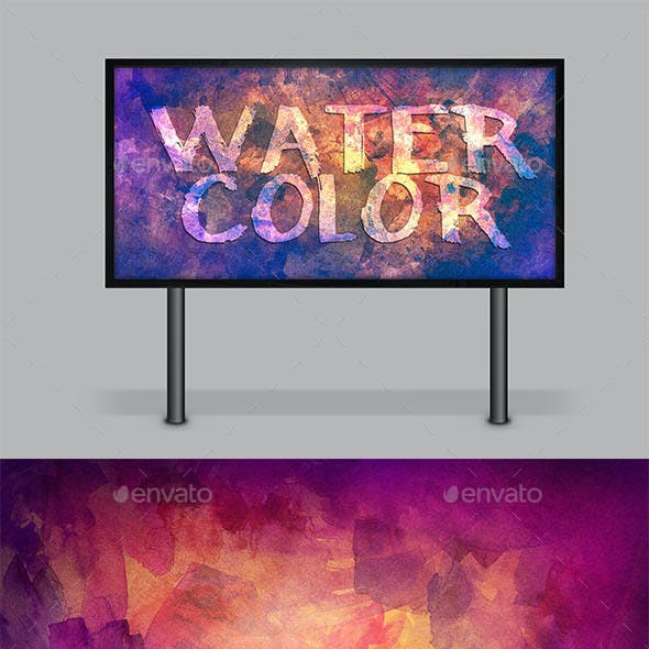 13 Watercolor Background