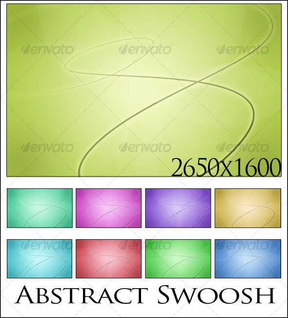 Abstract Swoosh Background - Abstract Backgrounds