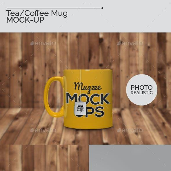 Tea/Coffee Mug Mock-Ups