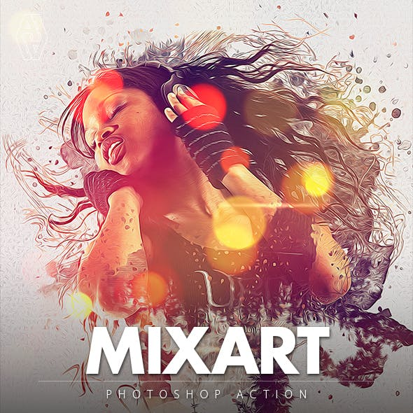 Mixart Photoshop Action