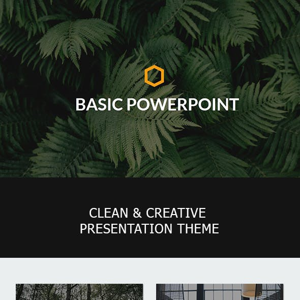 Basic Powerpoint Template