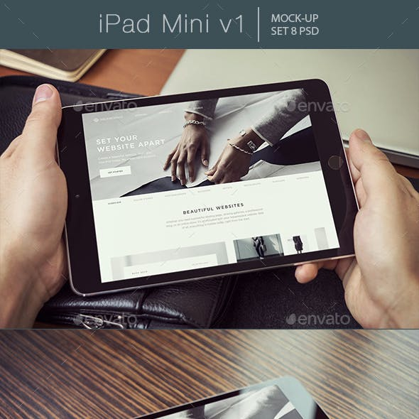 iPad Mini Mockups v1