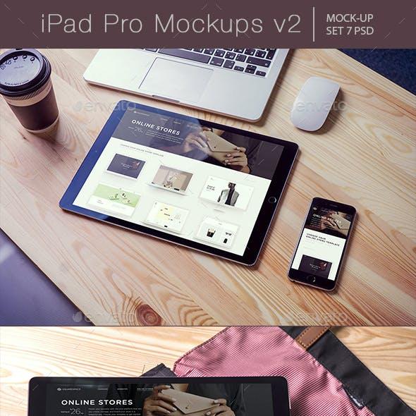 Pad Pro Mockups v2