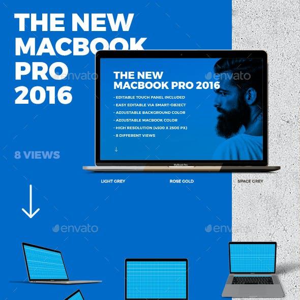 MacBook 2016 Mockup