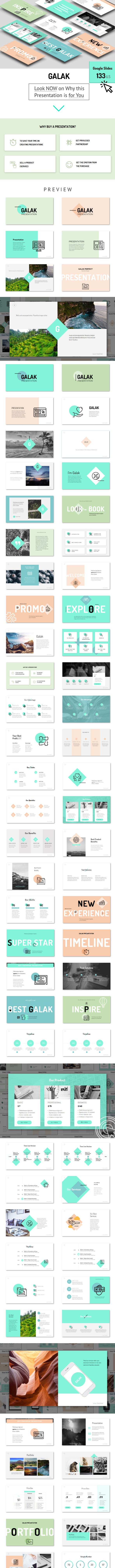 GALAK - Google Slides Presentation Template - Google Slides Presentation Templates