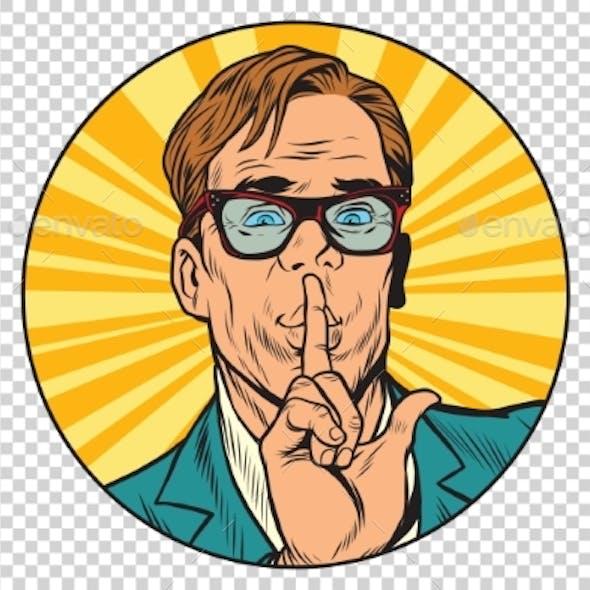 Businessman with a Secret