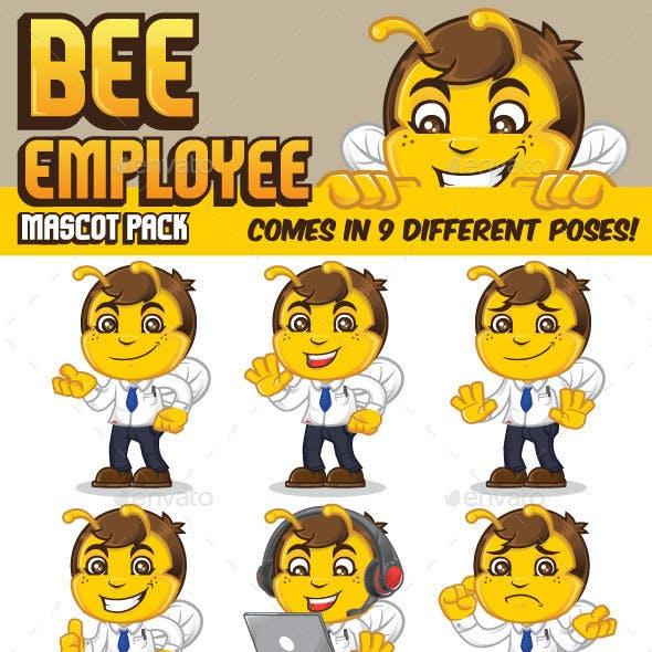 Bee Employee Mascot Kit