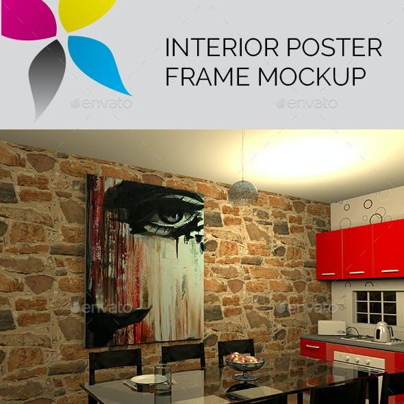 Interior Poster Frame Mockup