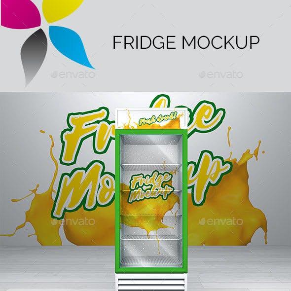 Fridge Mockup