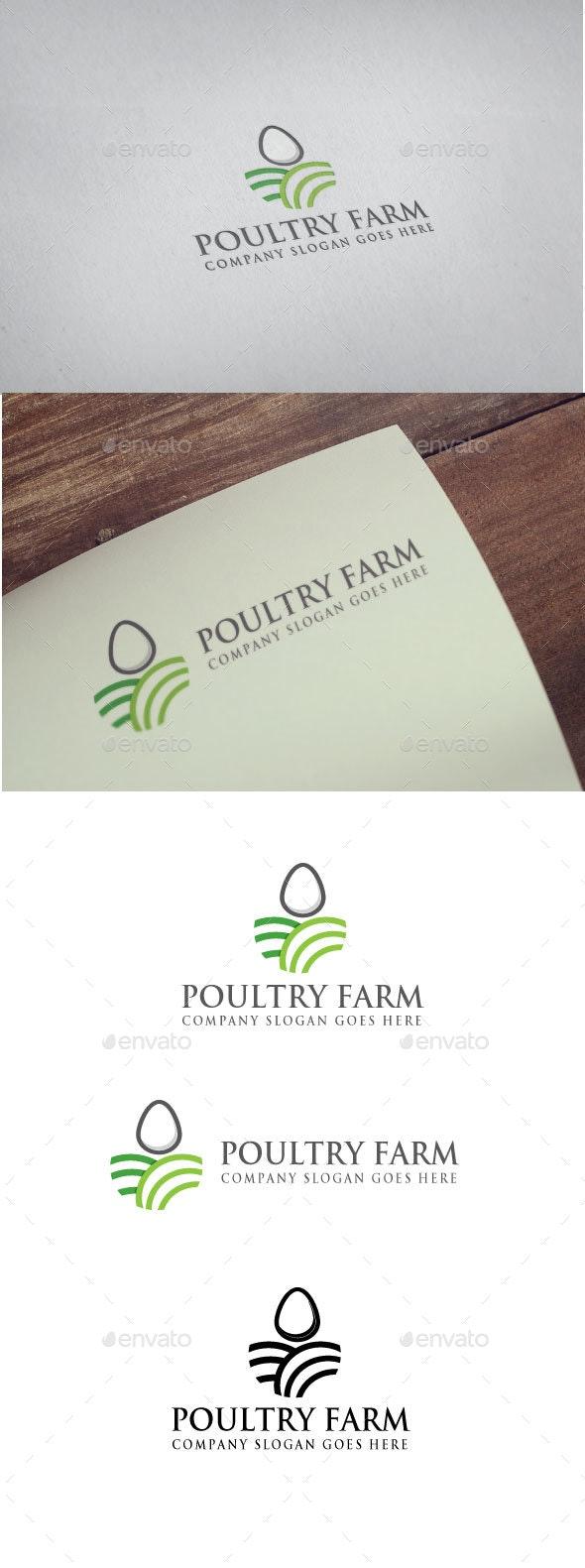 Poultry Farm logo - Nature Logo Templates