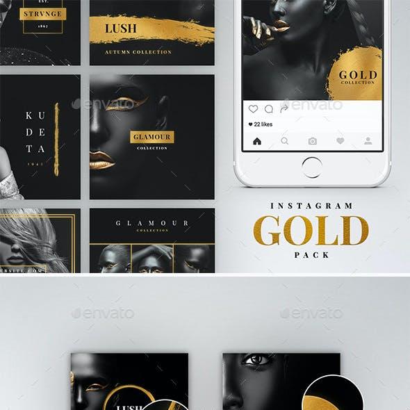 Instagram Gold Pack