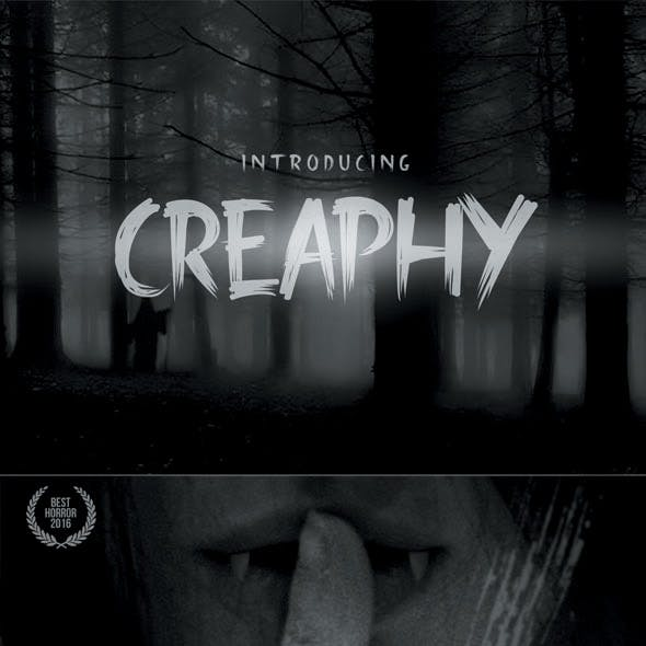 Creaphy Typeface