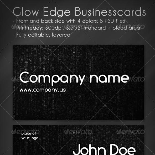 Glow Edge Business Card
