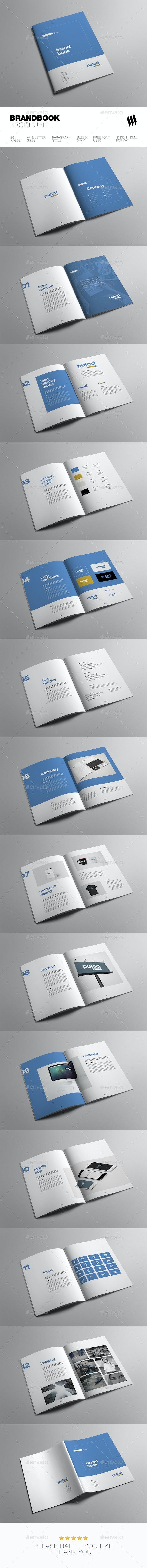 Minimal Brand Book - Brochures Print Templates