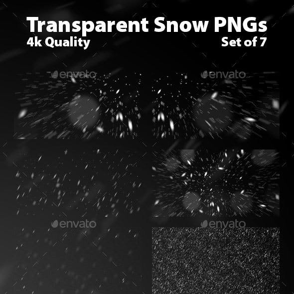 7 Transparent Snow PNGs