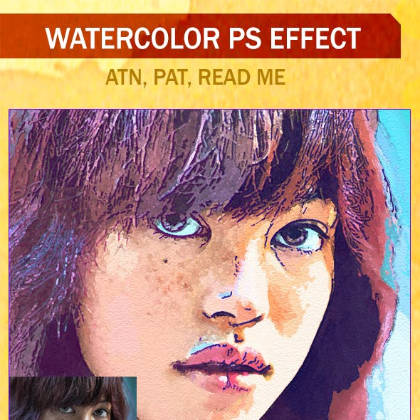 Oil Painting Photoshop Action-Vol-3