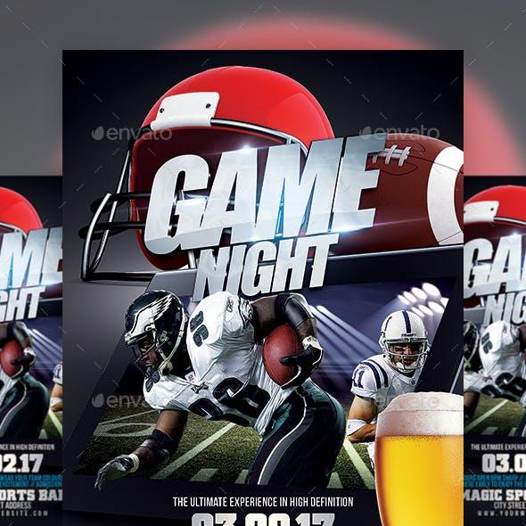 Football Game Night