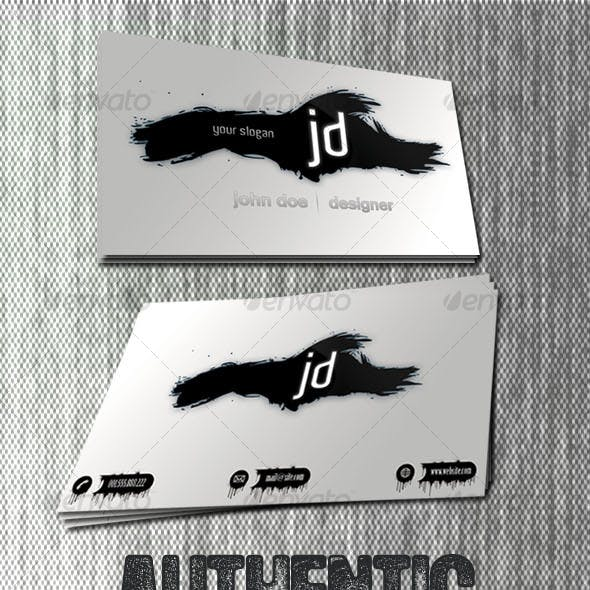 Authentic - Business Card