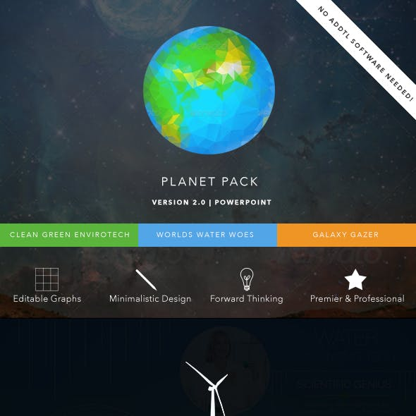 Planet Pack PowerPoint Presentation Bundle
