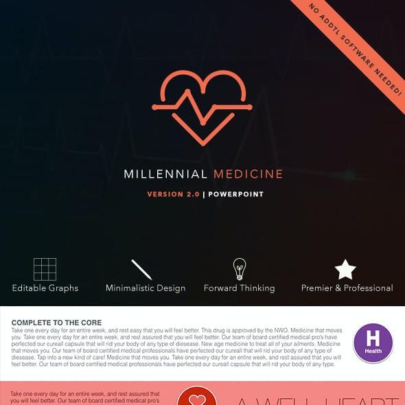 Millennial Medicine PowerPoint Presentation