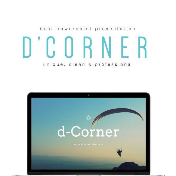 D-CORNER - Multipurpose PowerPoint Template (V.34)