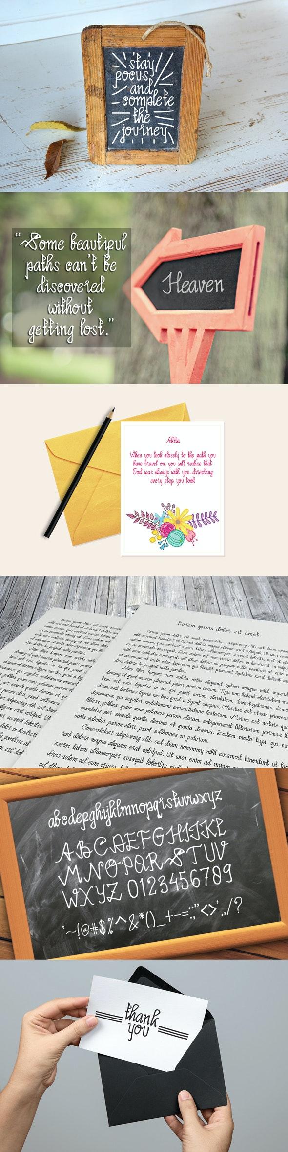 Limpoke Font - Handwriting Fonts