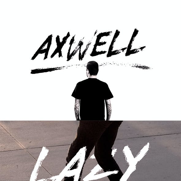Axwell Brush Font