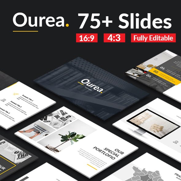 Ourea - Creative Keynote Template