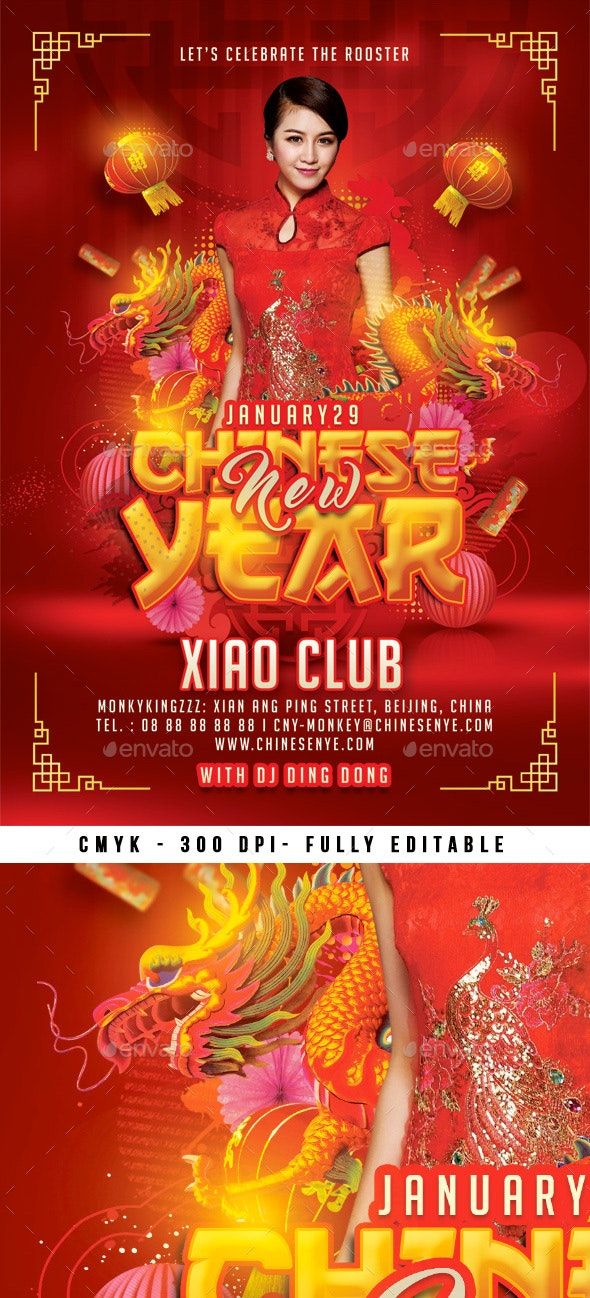 Chinese New Year - Events Flyers