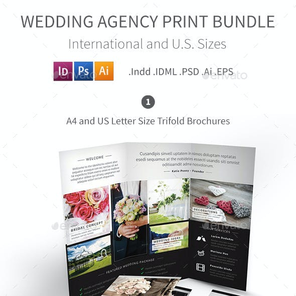 Wedding Agency Print Bundle