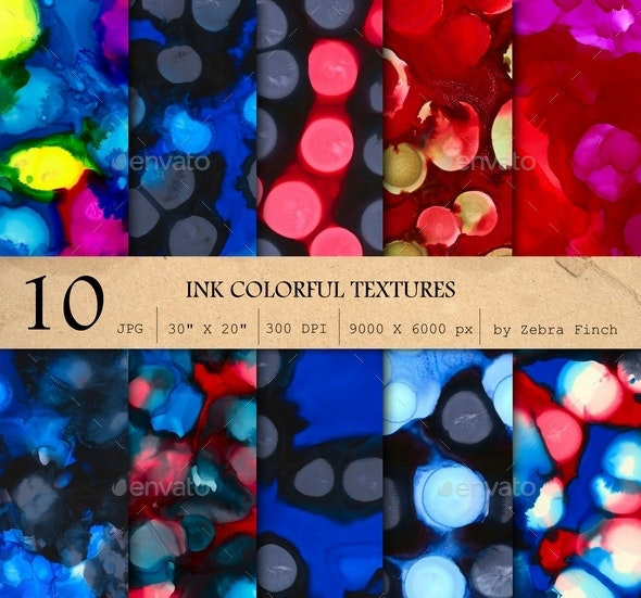 10 Paint textures - Abstract Textures