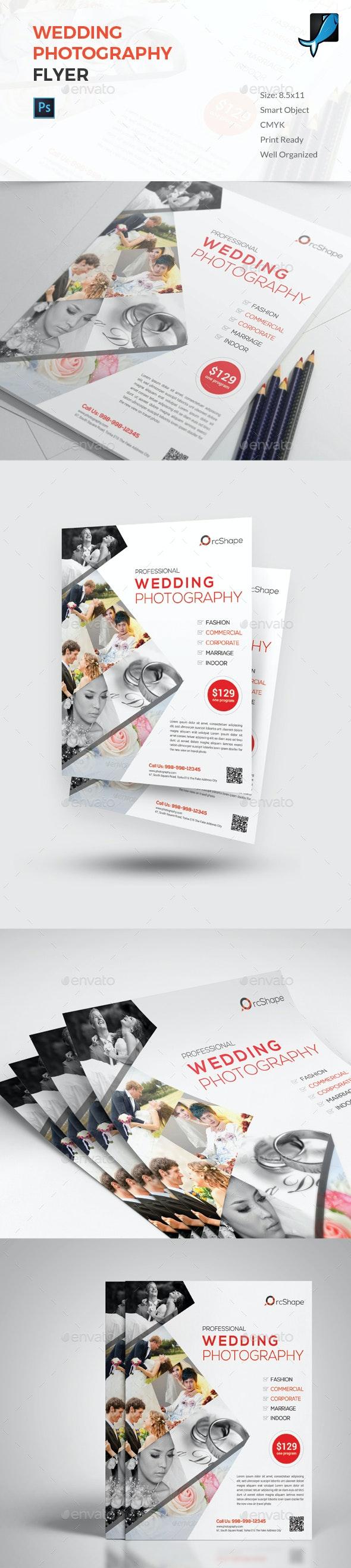 Wedding Photography Flyer - Corporate Flyers