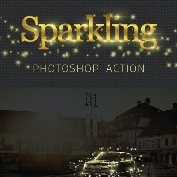 Sparkling Stars Photoshop Action