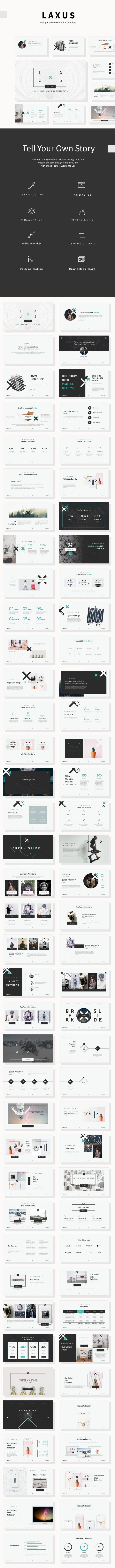 Laxus Multipurpose Theme - Creative PowerPoint Templates