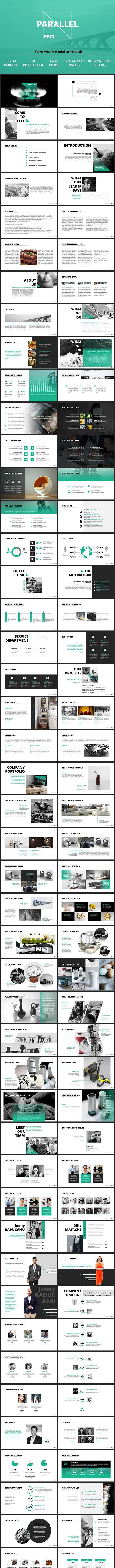 Parallel - Multipurpose PowerPoint Presentation Template - PowerPoint Templates Presentation Templates