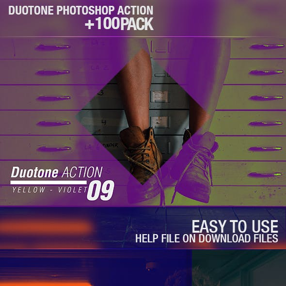 100+ Duotone Actions
