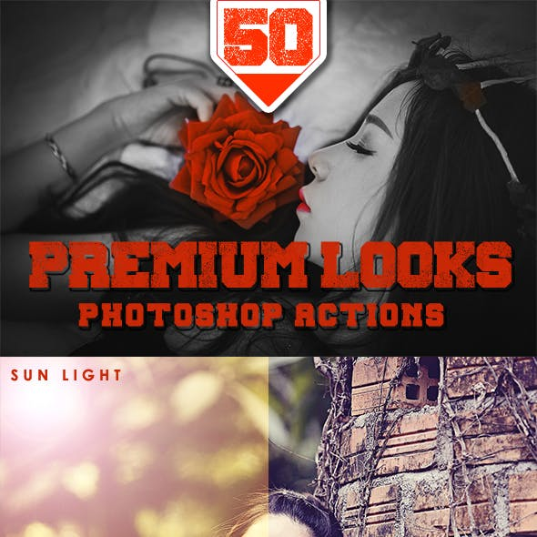 50 Premium Looks Photoshop Action