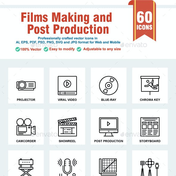 Films Making and Post Production