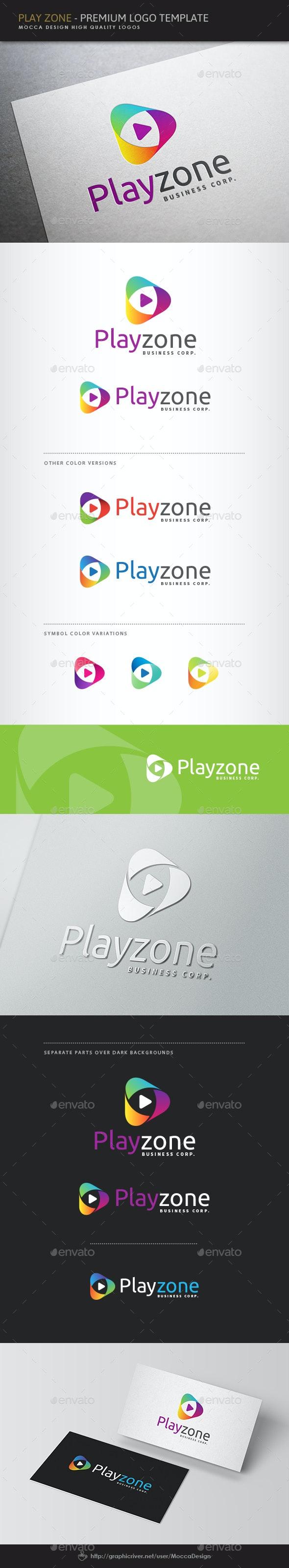 Play Zone Logo - Symbols Logo Templates