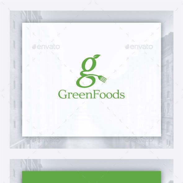 Green Food Logo