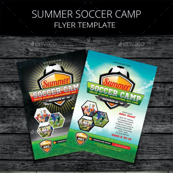 Kids Summer Soccer Camp