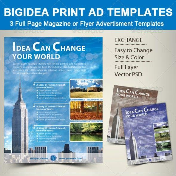 BigIdea Print Ad Templates