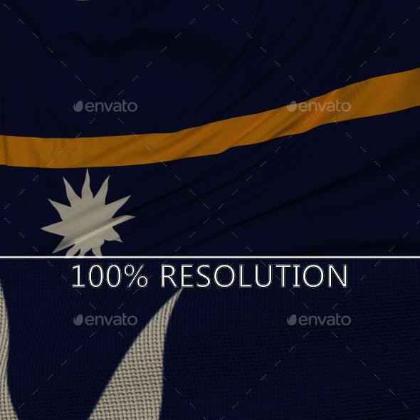 Background Flag of Nauru
