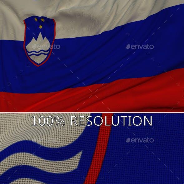 Background Flag of Slovenia